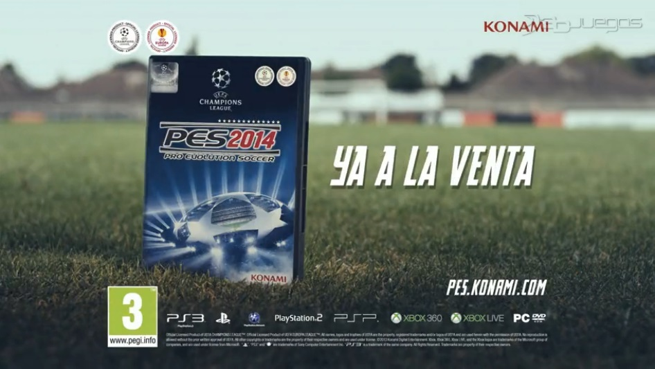 [Noticia] Konami si sacará PES 2014 para PS2!