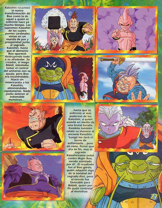 Álbum Dragon Ball Z 5 (El de Majin Buu)