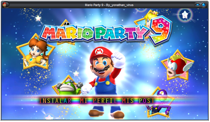 [Mi subida] Mario Party 9 [Convertido Para PC]