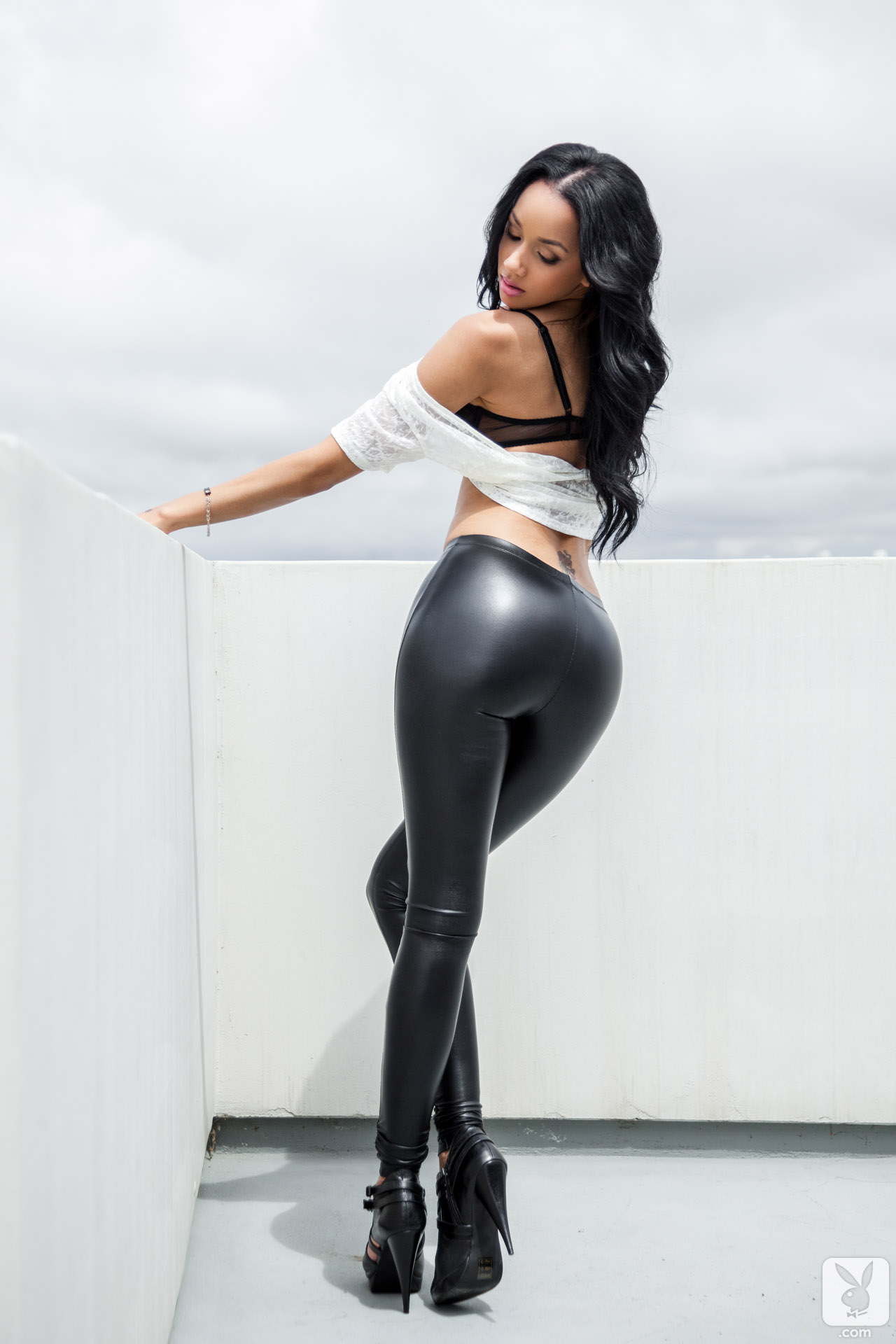 Porn big tits leather pants sexy xnxx