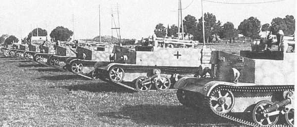 tanques capturados