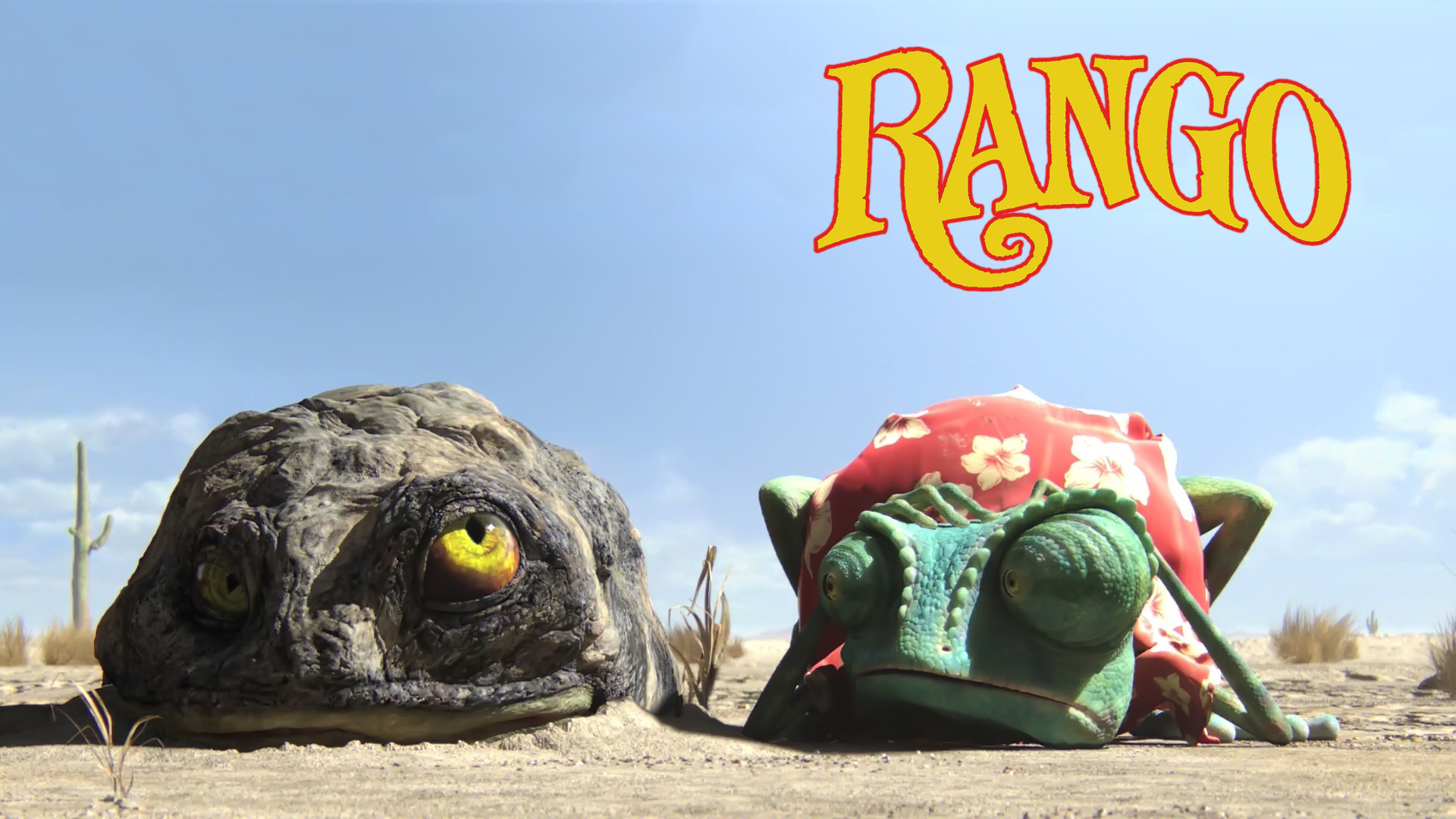 Rango de Johnny Depp Walpapers HD