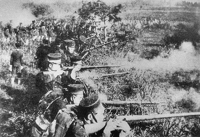 Atroces antecedentes de guerra entre China y Japon
