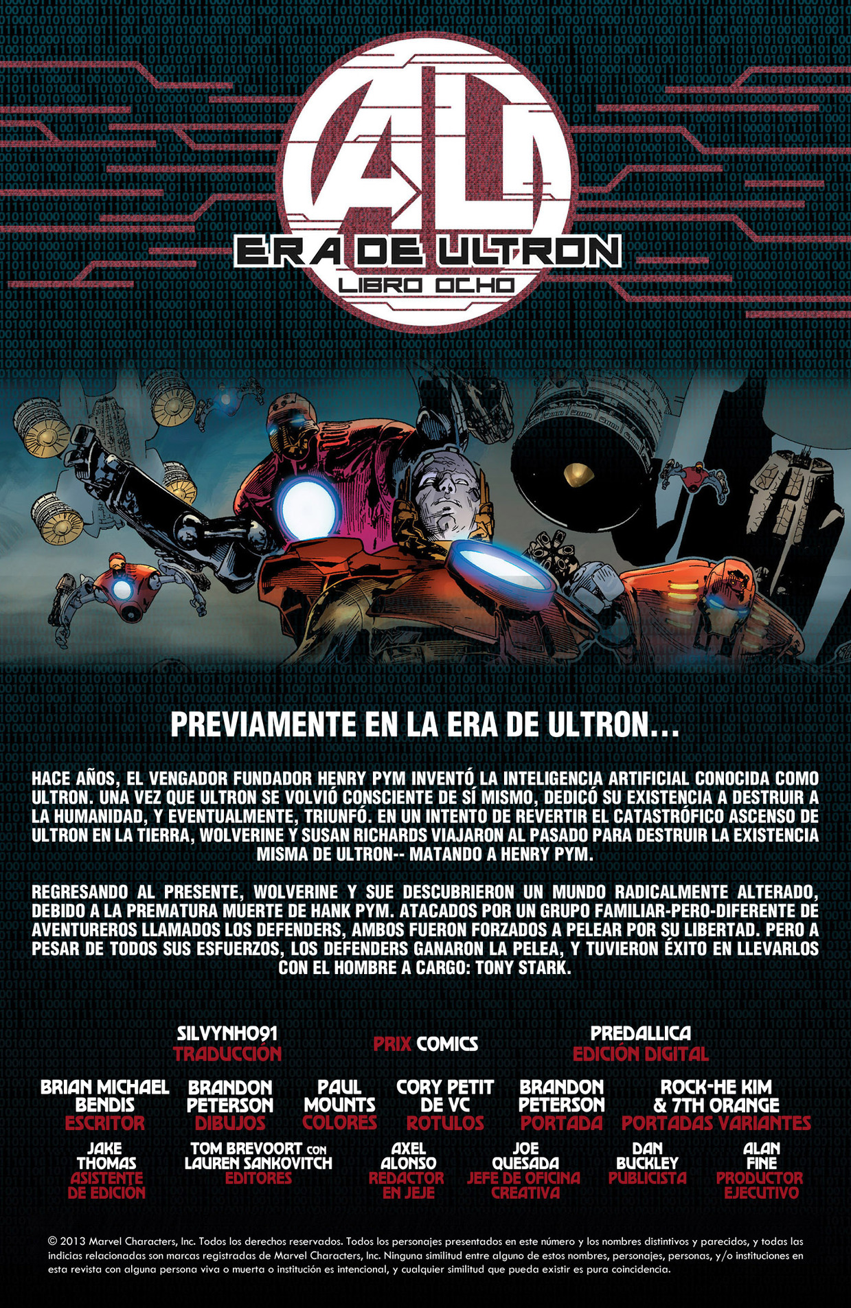 La era de Ultron 8  Evento marve
