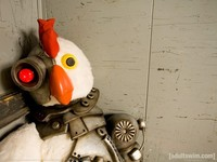 Chicken Robot Rules :metal: