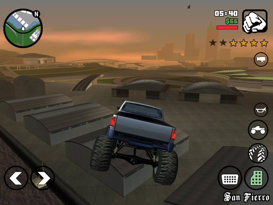 GTA San Andreas comparacion PC vs iOS
