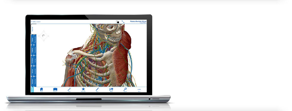 Atlas de Anatomía Humana para Mac o PC (Download)