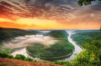 The Saar (French: Sarre) is a river in northeastern France and western Germany, and a right tributary of the Moselle.