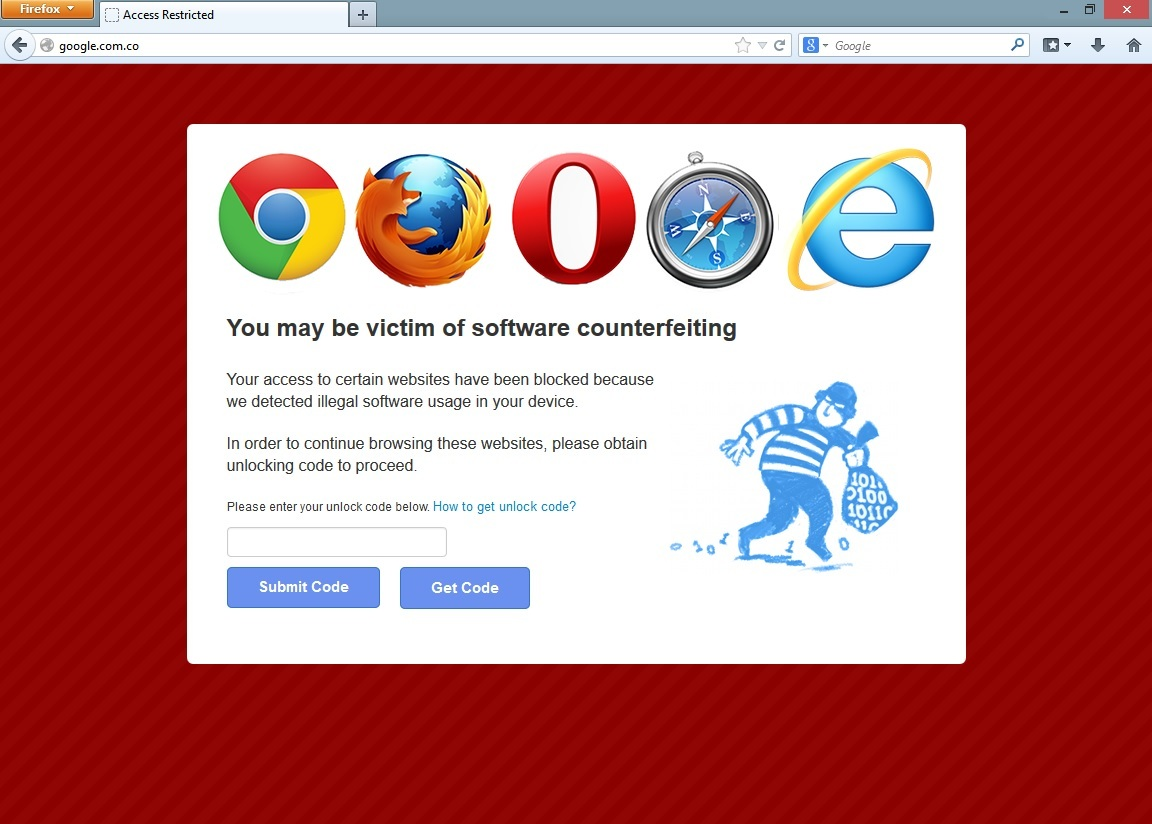 Virus: You may be victim of software counterfeiting