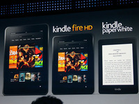 Amazon apuesta al Kindle Fire HD contra el iPad