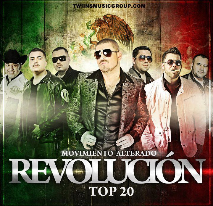 Movimiento Alterado – Revolución Top 20 15 Sep 2012