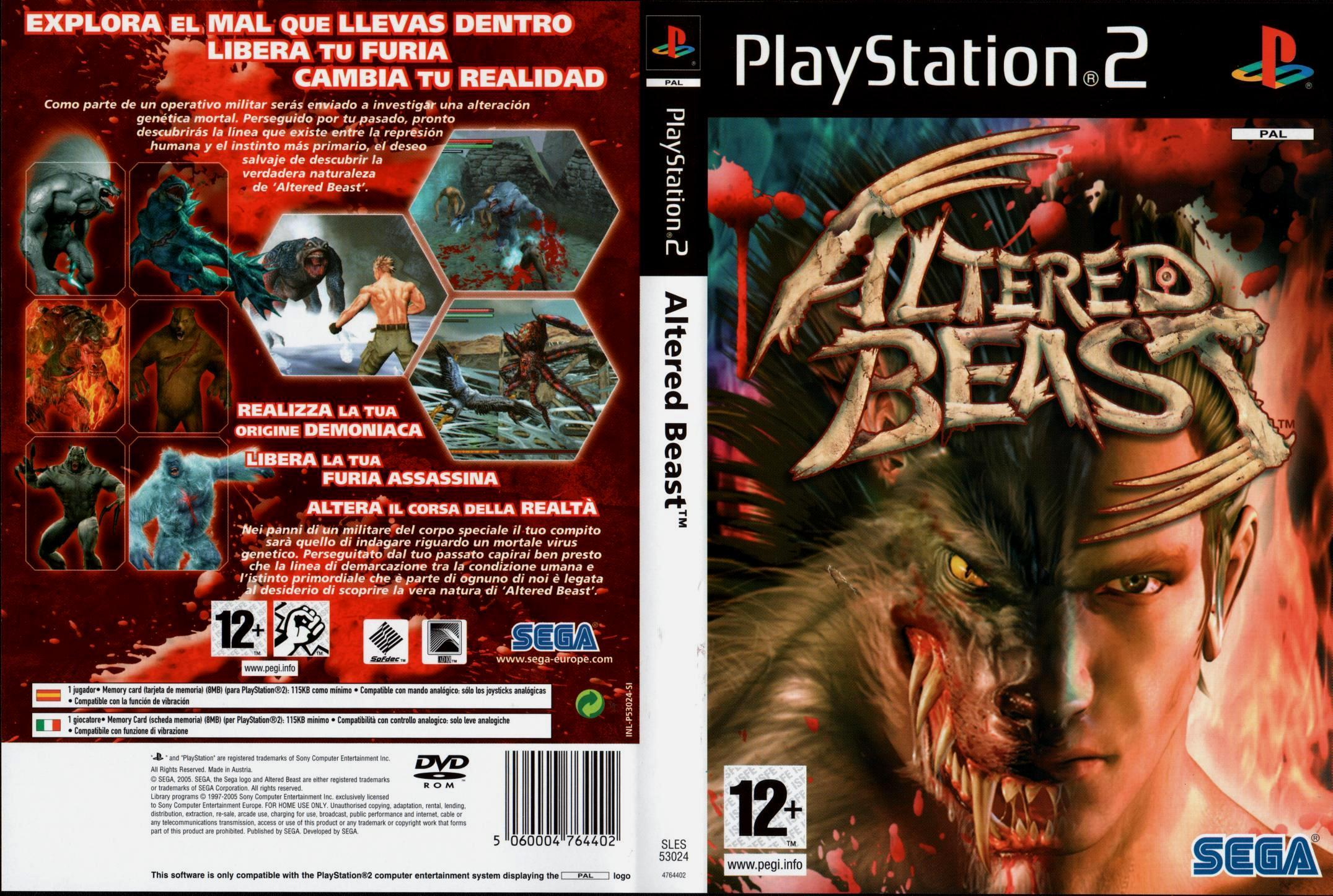 [Aporte] Altered Beast [NTSC/PAL][2S]