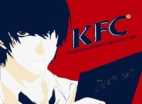 #kira #deathnote #anime kira fried chicken (?