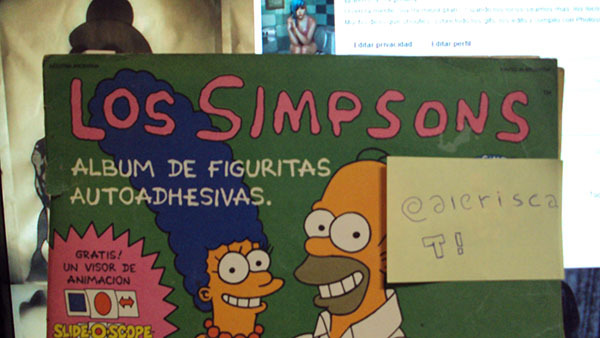 album de los simpsons