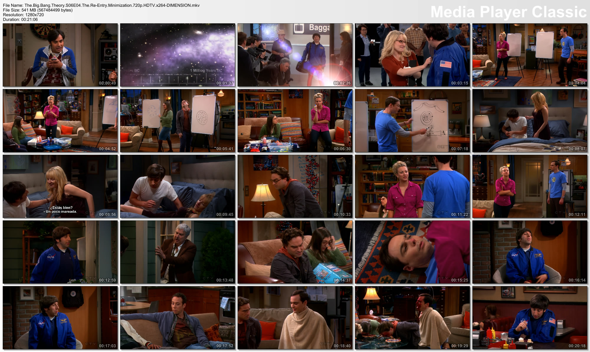 [Serie] The Big Bang Theory - Temporada 6 - Episodio 4 [HD]