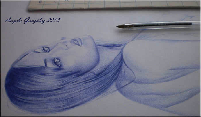 Sasha grey Drawing
