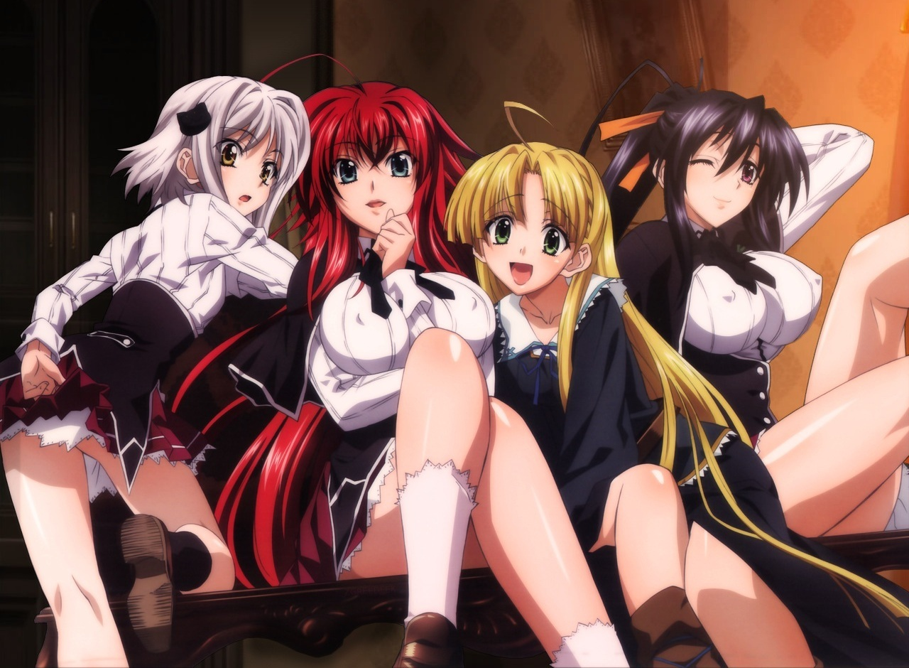 [Aporte] High School DxD New [02/??][MP4][MF]