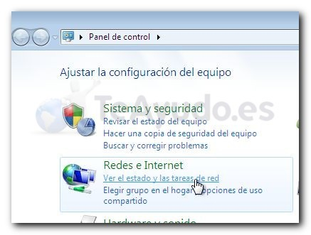 Cambiar DNS en Windows 7